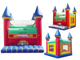 EURO BLUE TIP EURO  BOUNCE HOUSE