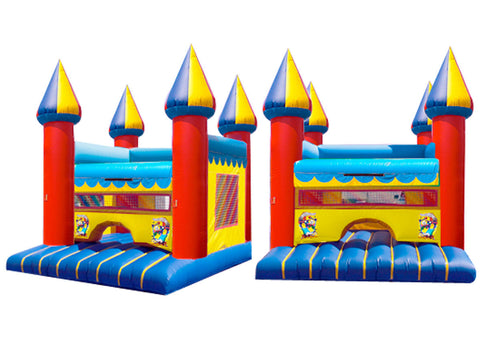 EURO YELLOW TIP BOUNCE HOUSE