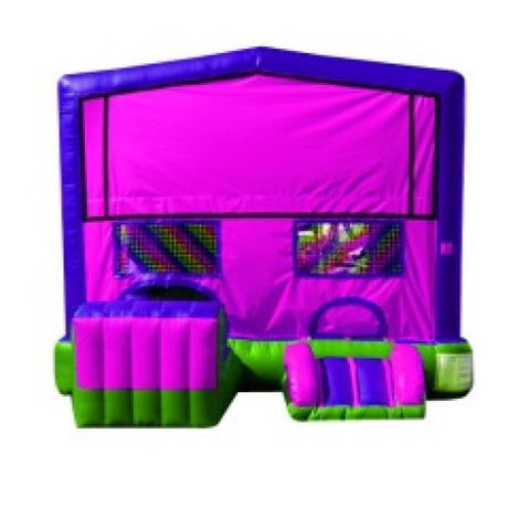 PINK ALL-IN-ONE COMBO BOUNCE HOUSE