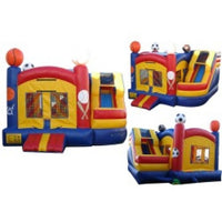 PRIMARY COMPACT COMBO BOUNCE HOUSE