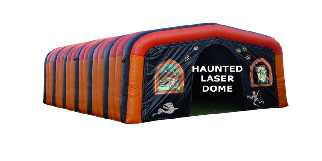 HAUNTED LAZER DOME