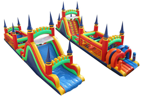 BLUE SPIRE CASTLE THEME  OBSTACLE COURSE