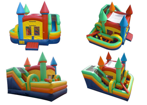 CASTLE  MINI OBSTACLE COURSE BOUNCE HOUSE