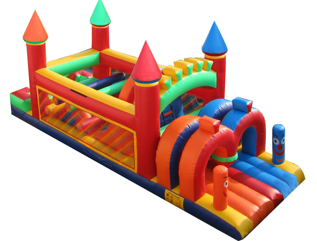 PRIMARY CASTLE OBSTACLE COURSE