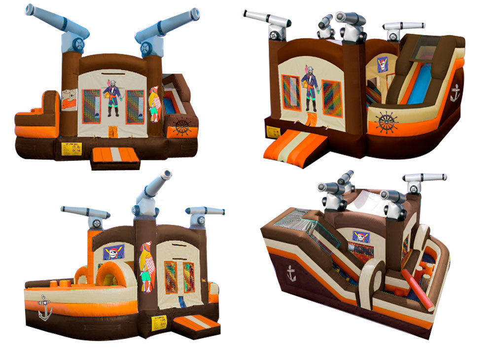 PIRATE MINI OBSTACLE COURSE BOUNCE HOUSE