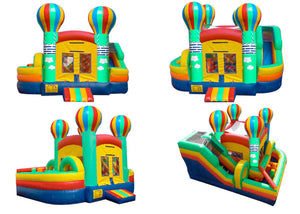 BALLOON MINI OBSTACLE COURSE BOUNCE HOUSE