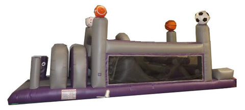GREY/PURPLE SPORTS OBSTACLE COURSE