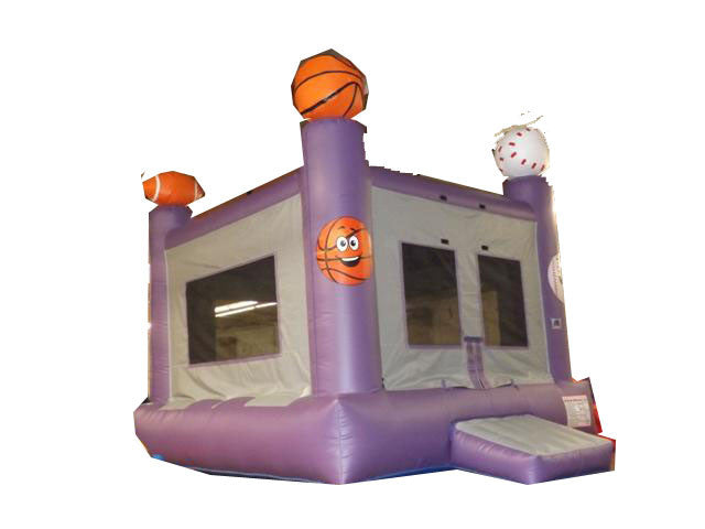 PURPLE SPORTS BOUNCE HOUSE
