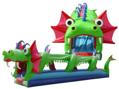 SEA MONSTER THEME SLIP -N -SLIDE
