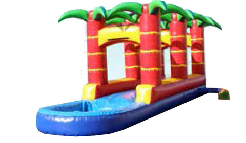 PALM TREE THEME R / L  WATER  SLIP  & SLIDE # 3