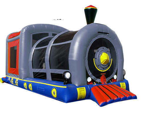 LOCOMOTIVE THEME BOUNCE HOUSE #2