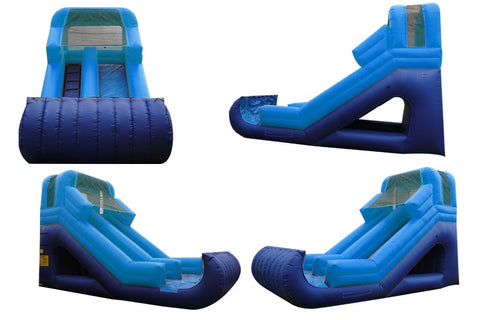 FRONT LOAD BRIGHT BLUE SLIDE