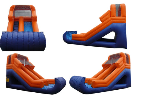 FRONT LOAD ORANGE/BLUE SLIDE