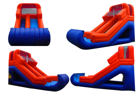 FRONT LOAD RED SLIDE