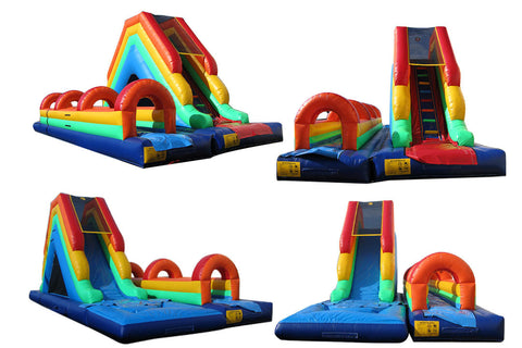 REAR LOAD COMBO SLIP-N-SLIDE WATER SLIDE