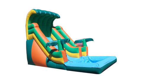 TROPICAL TIDAL WAVE SLIDE