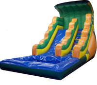ORANGE TIDAL WAVE SLIDE