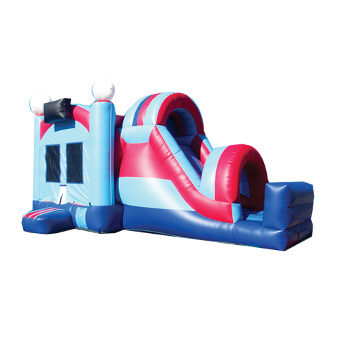 Side Pop Slide Combo Bounce House #2