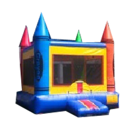 CRAYON   TIP  STYLE -  BOUNCE  HOUSE