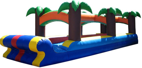 PALM TREE THEME REAR LOAD  WATER SLIDE