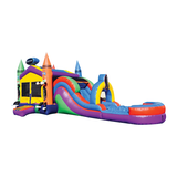 CRAYON TIP THEME COMBO BOUNCE  HOUSE