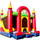 CASTLE INTERIOR COMBO  BOUNCE HOUSE # 2