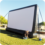 20 FEET  SILENT INFLATABLE MOVIE SCREEN