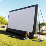 25ft SILENT INFLATABLE MOVIE SCREEN