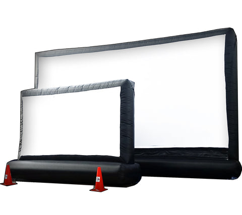 Used 2 INTIMATE INFLATABLE MOVIE SCREEN