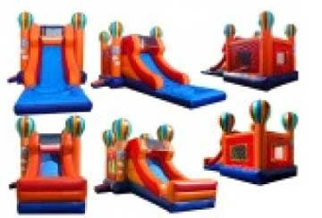 BALLOON THEME --WET / DRY  COMBO BOUNCE HOUSE # 7