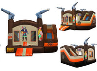PIRATE COMPACT COMBO BOUNCE HOUSE # 1