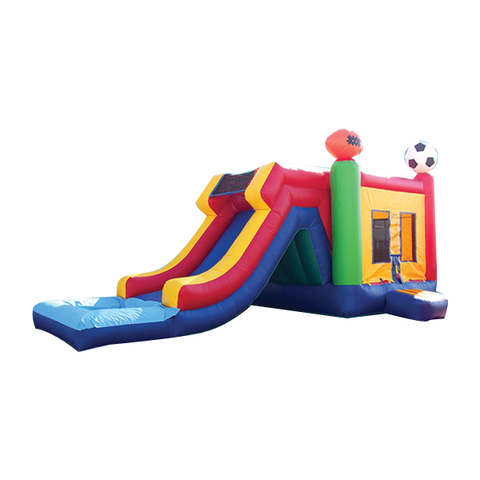 Sports Theme Combo Bounce House