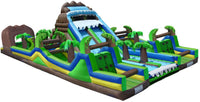 BLUE TROPICAL EXTREME OBSTACLE COURSE
