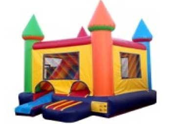 CASTLE ALL-IN-ONE COMBO  BOUNCE HOUSE # 1
