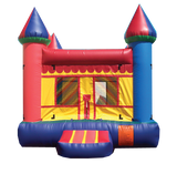 BLUE &  YELLOW CASTLE BOUNCE HOUSE