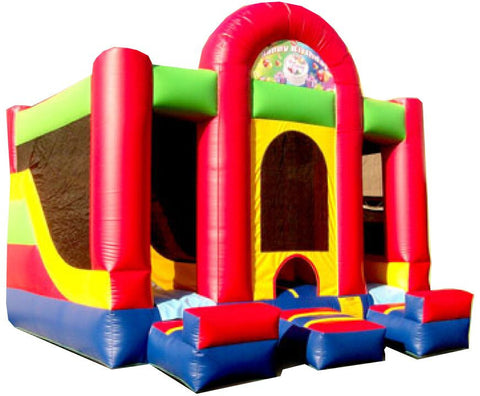 DOUBLE SLIDE COMBO BOUNCE HOUSE