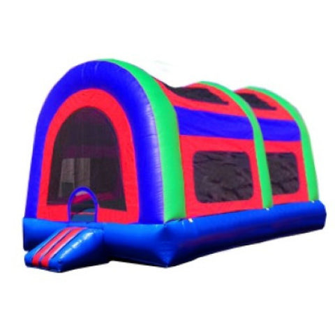 BLUE TOP ARCH BOUNCE HOUSE