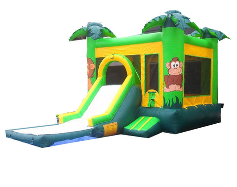 ZOO THEME COMBO BOUNCE HOUSE