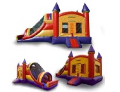 CRAYON & ARCH THEME COMBO BOUNCE HOUSE