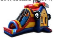 MONSTER TRUCK THEME  COMBO BOUNCE HOUSE