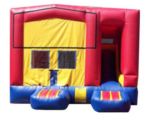 RED COMPACT COMBO BOUNCE HOUSE