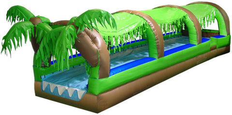 TROPICAL THEME FRONT LOAD SLIP-N-SLIDE , WATER SLIDE