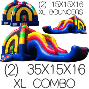 XL INFLATABLE PACKAGE DEAL #4