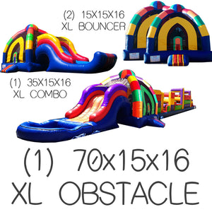 XL INFLATABLE PACKAGE DEAL #5