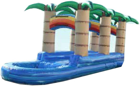 PALM TREE  R / L  WATER  SLIP & SLIDE  # 2