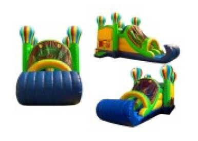 BALLOON THEME COMBO BOUNCE HOUSE # 5
