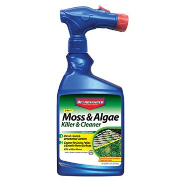 BioAdvanced® 2-In-1 Moss & Algae Killer