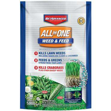 BioAdvanced® All in One Weed & Feed 22-0-4
