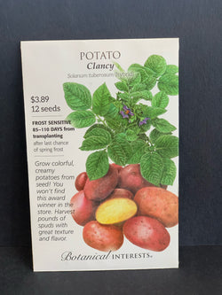 Botanical Interests: Clancy Potato Seeds