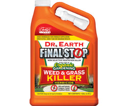 Dr. Earth Final Stop Weed & Grass Herbicide